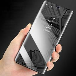 Mirror Case for Samsung Galaxy S7 S8Plus Flip Leather Cover