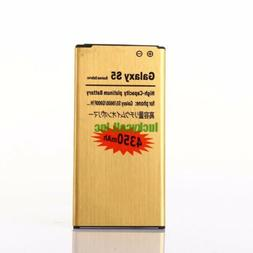 New High Capacity 4350mAh Golden Battery for Any Samsung Gal