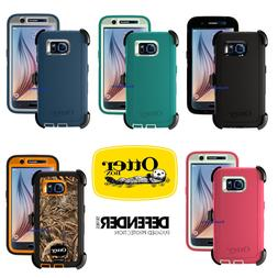 OtterBox Defender Case for Samsung Galaxy S6 w/ Holster - Re