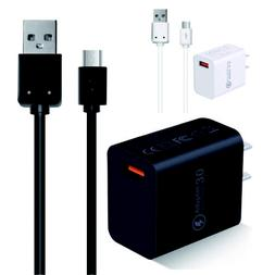 QC 3.0 Fast Qualcomm Quick Wall Charger Adapter For Samsung