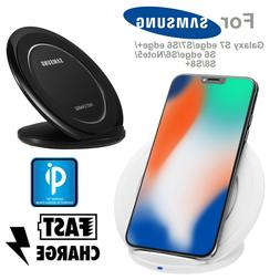 Qi Fast Wireless Charger Charging Pad Stand Dock for Samsung