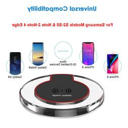 Qi Wireless Charger Dock Charging Pad Receiver For Samsung S