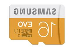 Samsung 16GB up to 48MB/s EVO Class 10 Micro SDHC Card with