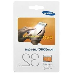Samsung Evo 32GB MicroSD HC Memory Card for Samsung Galaxy S