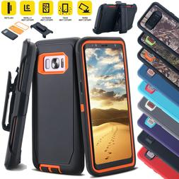 Samsung Galaxy Note8/5 S8/S7/S9 Case Shockproof Hybrid Cover