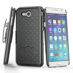 Samsung Galaxy S5 S6 - HARD HOLSTER COMBO with KICKSTAND BEL
