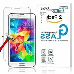 Samsung Galaxy S5 Screen Protector Premium Tempered Glass 9H