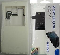 Samsung S-View Flip Cover/Case For Samsung Galaxy S5 in Whit