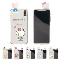 Sanrio Figure Jelly Cover Galaxy S10 Note10 Plus iPhone 11 P