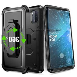 Shockproof Rugged Hybrid Armor Case Cover With Stand Holster