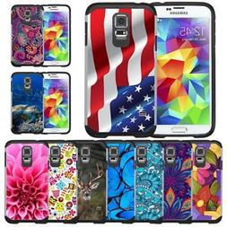 Slim Hybrid Armor Case Protective Cover for Samsung Galaxy S