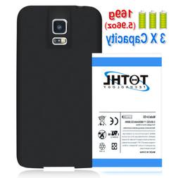 TQTHL For Samsung Galaxy S5 G900R4 Extended Replacement Batt