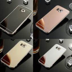 Ultra-Thin Mirror Silicone Gel TPU Hard Case Cover For Samsu