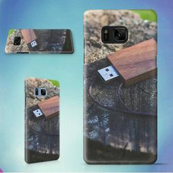 WOODEN USB FLASH DRIVE HARD CASE FOR SAMSUNG GALAXY S PHONES