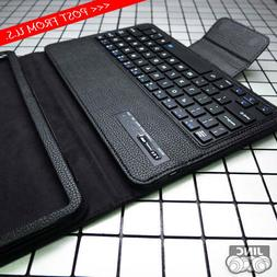Bluetooth Keyboard Leather Case Cover for Samsung Galaxy Tab