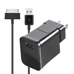 RocketBus Cable Power Adapter Charger for Samsung Galaxy Tab