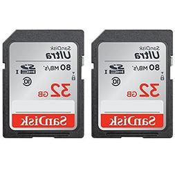 Calumet Sandisk Ultra SDHC 32GB 80MB/S C10 Flash Memory Card