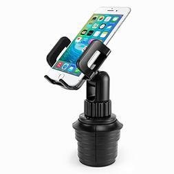 Cellet PHT850WT Dashboard//Windshield Car Clip Mount Holder with Sticky Pad for Samsung Galaxy S8 S8 Plus S6 S5 Note 8//iPhone X 8//8 Plus and other Phones up to 3.8 Inches Wide-Black