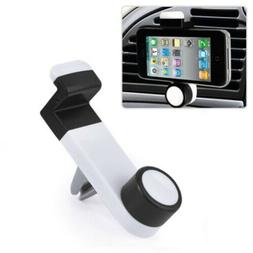 Car Mount Air Vent Holder Swivel Cradle Strong Grip Dock for
