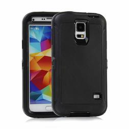 Defender Case With Belt Clip & Screen Protector For Samsung