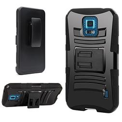 Galaxy S5 Sport Case, S5 Sport Holster Case  By E LV - Full
