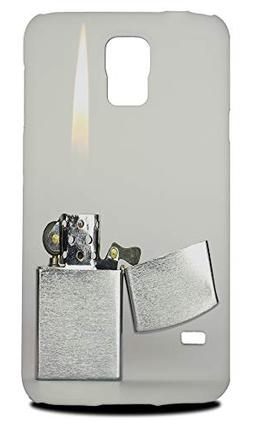 Cool Lighter Flames Fire Hard Phone Case Cover for Samsung G