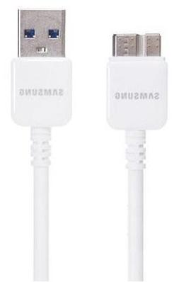 Samsung 3-Foot Data Cable with USB 3.0 for Galaxy Note 3/S5