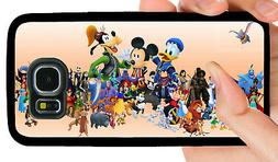 DISNEY CHARACTERS PHONE CASE FOR SAMSUNG NOTE & GALAXY S5 S6