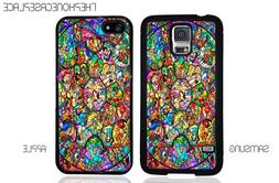 Disney Stained Glass Characters Phone Case for Apple or Sams