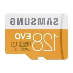 SAMSUNG EVO 128GB MICROSD MEMORY CARD MICRO-SDXC HIGH SPEED