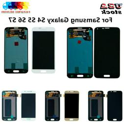 Fit For Samsung Galaxy S4 S5 S6 S7 LCD Touch Screen Digitize