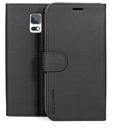 for Samsung Galaxy S5 Case BUDDIBOX PU Leather Card Slot Wal