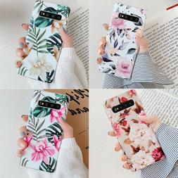 Fr Samsung Galaxy S8 S9 S10+ Shockproof Flower Cute Girls Wo