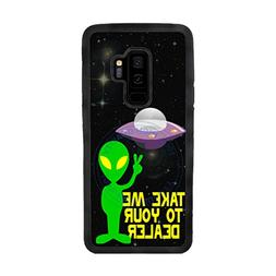 BleuReign Funny Alien Take Me to Your Dealer TPU Rubber Sili