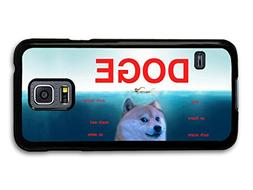New Funny Doge Dog Meme Jaws Hipster Film case for Samsung G