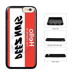 BleuReign Funny Name Tag Deez Nuts TPU RUBBER SILICONE Phone