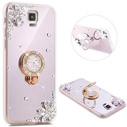 PHEZEN Galaxy S5 Case, Samsung Galaxy S5 Glitter Case Luxury