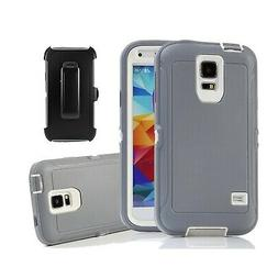 Galaxy S5 Holster Case, Harsel Defender Series Heavy Duty Tr