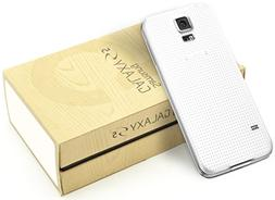 Samsung Galaxy S5 SM-G900T - 16GB - Shimmery White Smart Pho