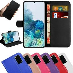 Case for Samsung Galaxy S20 S10e S9 S8 Plus Cover Wallet Lea