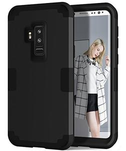 Galaxy S9 Plus Case, MCUK 3 In 1 Hybrid Heavy Duty Shockproo