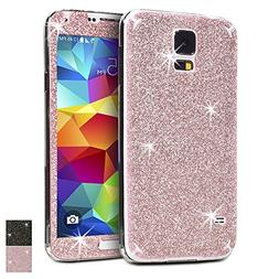 Girly Pink Galaxy S5 Protective Skin Decals, Rejected all tr