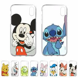 DISNEY Heart Jelly Cover Galaxy S10 Note10 iPhone 11 Pro XS