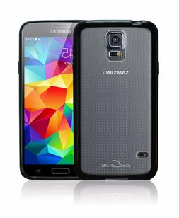 amCase Hybrid Bumper Case  for Samsung Galaxy S5 with Anti-S