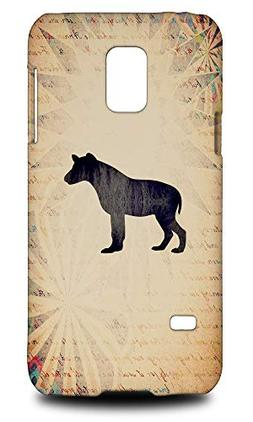 Hyena Watercolor Art Hard Phone Case Cover for Samsung Galax