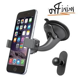 iBOLT miniPro Window / dash car mount for iPhone 5, 5c, 5S,