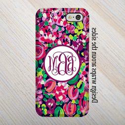 iPhone 8 Case, Lilly Pulitzer inspired iPhone 6,Note 5 case,