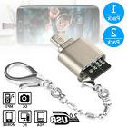 1/2-pack Micro USB OTG TF Micro SD Card Reader Adapter for A