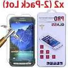 2-PACK Premium Tempered Glass Screen Protector Film for Sams