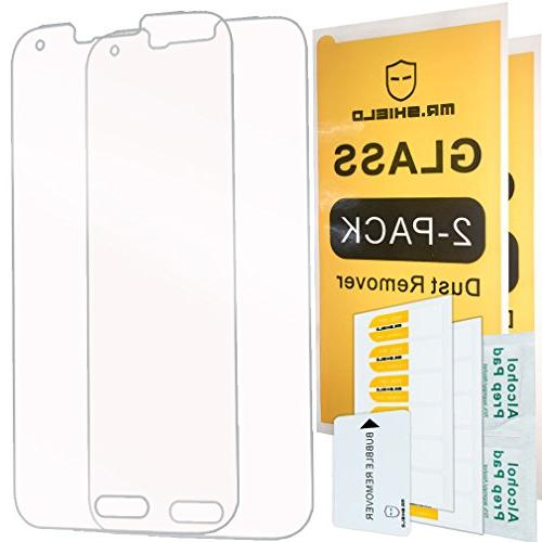 2 pack for samsung galaxy s5 tempered